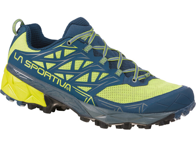 La Sportiva Akyra Running Shoes Herren apple green/opal